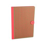 Orange/ Kraft Full Circle, B5 Notebook