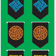I-clips Magnectic Page Markers, Celtic