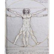 Da Vinci: Vitruvian Man (Blank Sketch Book)