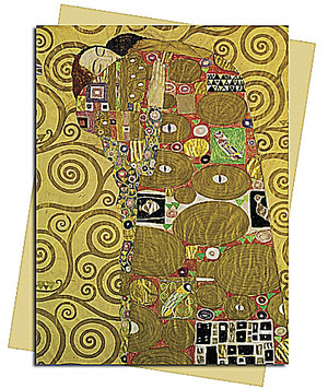 Fulfilment (Klimt), Greeting Card