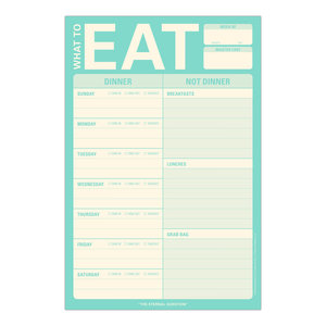 What to Eat Pad (Mint Green)
