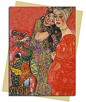 Woman Friends (Klimt), Greeting Card