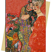 Woman Friends (Klimt), Greeting Card