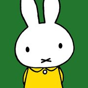 Miffy Head, Greeting Card