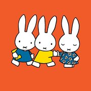 Miffy square friends, Greeting Card