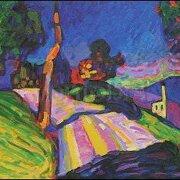 Murnau-Kohlgruberstrasse (1908), Wassily Kandinsky, Greeting Card