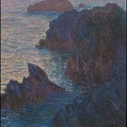 Rock Points at Port-Goulphar (1886), Claude Monet, Greeting Card