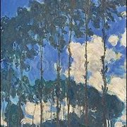 Poplars on the Epte (1891), Claude Monet, Greeting Card