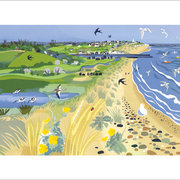 Towards Southwold, Greeting Card