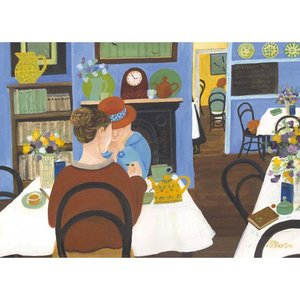 The Tea Room, Greeting Card