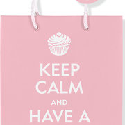 Keep Calm have a Cupcake Deluxe Gift Bag