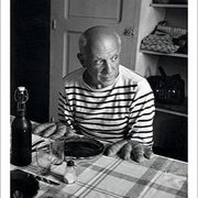 Picasso's Bread rolls, Vallauris, France, 1952