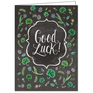 Good Luck, Lily & Val, Greeting Card