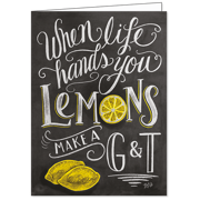 Life Hands You Lemons, Lily & Val, Greeting Card