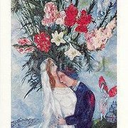 Bride and Groom (1927), Marc Chagall