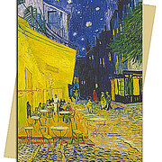 Café Terrace (Van Gogh), Greeting Card