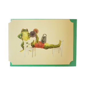 The Weight Exercise, Greeting Card
