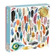 Feathers 500 Piece Foil Puzzle