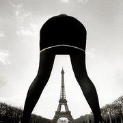 Boulat Paris  la tour Eiff, Postcard