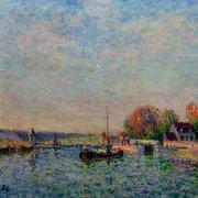 SISLEY Le Canal du Loing, Postcard