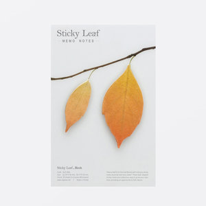 Sticky Leaf, Björk, Brun, Medium