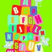 JACQUÉ L alphabet des souri, Postcard