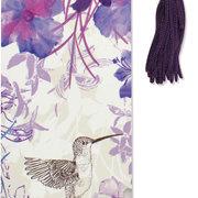 Beaded Bookmark, Hummingbirds