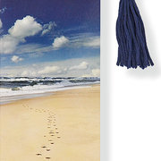 Beaded Bookmark, Footprints