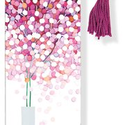 Beaded Bookmark, Lollipop Tree