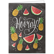 Hooray, Lily & Val, Greeting Card