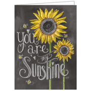 Sunshine, Lily & Val, Greeting Card