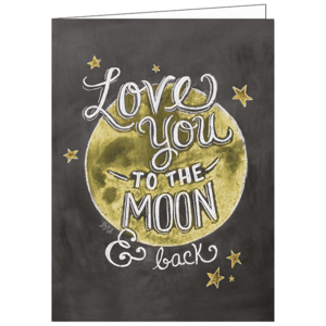 Lovemoon, Lily & Val, Greeting Card