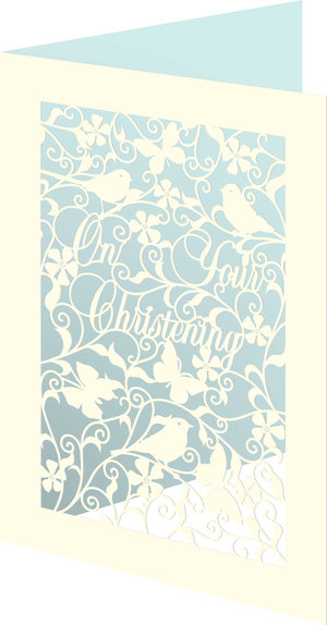 Christening Boy L/C, Cards - RLB/First Press