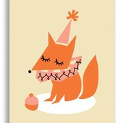 Fox, Darling Clementine Postcards