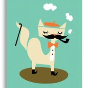 Cat, Darling Clementine Postcards