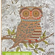 Owl, Coloring Journal