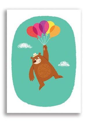 Balloon Bear, Big Phil & Friends Postcards