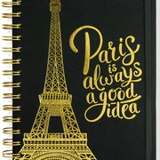 Paris is always a good idea, Spiralbound Journal