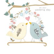 Wedding Birds, Greeting Card