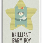 Baby Boy, Paper & Cloth Cards