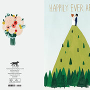 Hilltop Wedding, Cards - Petite