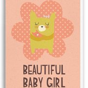 Baby Girl, Paper & Cloth Cards