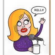 Adele, Greeting card