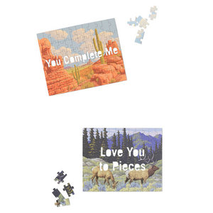 Love You to Pieces  Message Puzzle