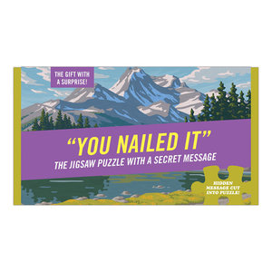 You Nailed It Message Puzzle