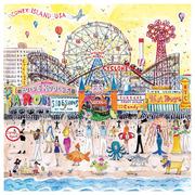 Michael Storrings Summer at the Amusement Park 500 Pc Puzzle