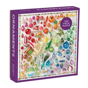 Rainbow Ornaments 500-pc Puzzle