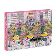 Michael Storrings Spring on Park Avenue 1000 Piece Puzzle