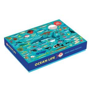 Ocean Life 1000pc Family Puzzle