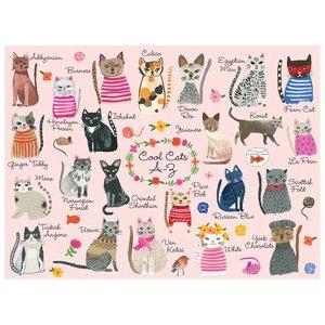 Cool Cats A-Z 1000 Piece Puzzle